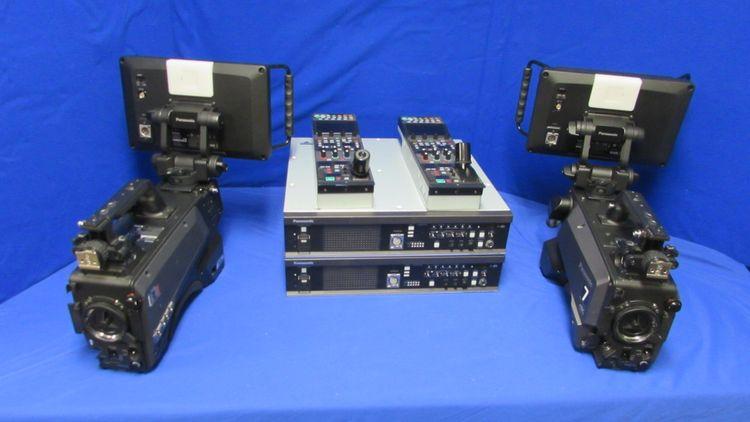 2 Panasonic AK-UC3000 4K Studio Camera System