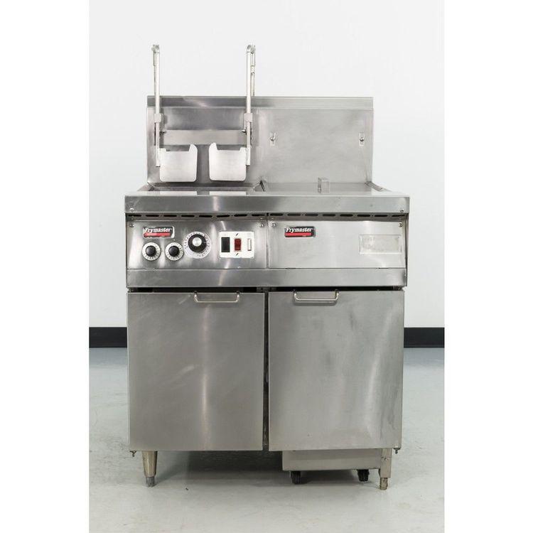 Frymaster FM145EBLSC Gas Fryer w/Filtration System