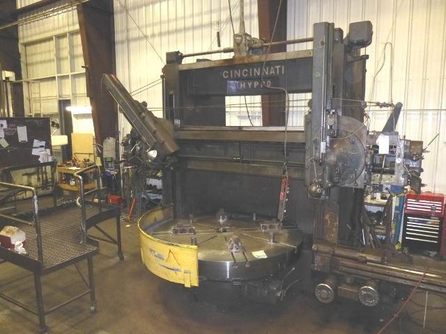 "Cincinnati 84"" Hypro Vertical Boring Mill"