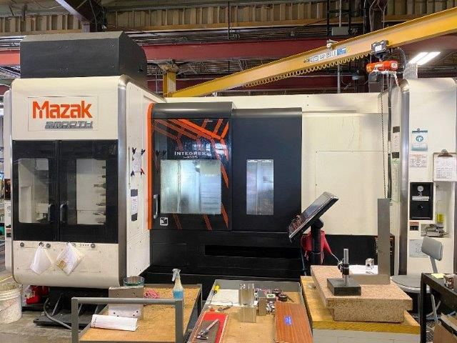 Mazak MAZATROL SMOOTHX CNC CONTROL 4000 RPM INTEGREX i-400SW/1500 CNC MULTI-TASKING TURNING CENTER 6 Axis
