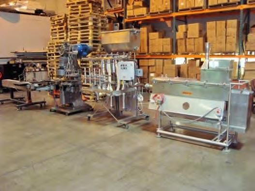 Canco Complete Cheese Sauce Canning line