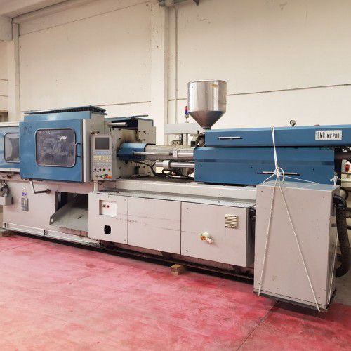 BMB MC 200, Injection molding machine 200 Ton