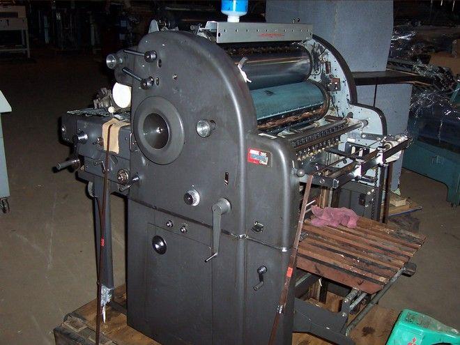 "AB Dick 385 W/KOMPAC, 1 color Offset machine 17"" X 22"""