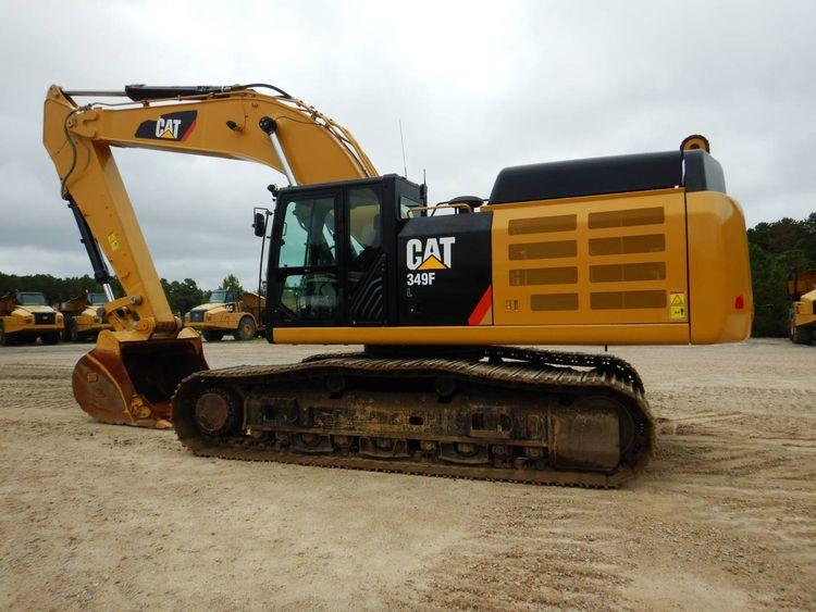 Caterpillar 349FL Track Excavators