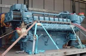 MTU 16V396TE74L Marine Engine