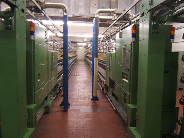 4 Schlafhorst, Zinser 420, 238 Ring Frames linked to Coner Winder