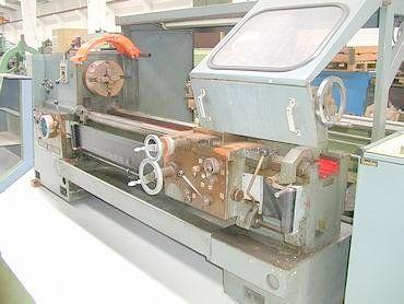 Weisser Engine Lathe Max. 1400 rpm HECTOR