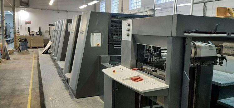 Heidelberg CD 74-6P3+LX C 530×740 mm