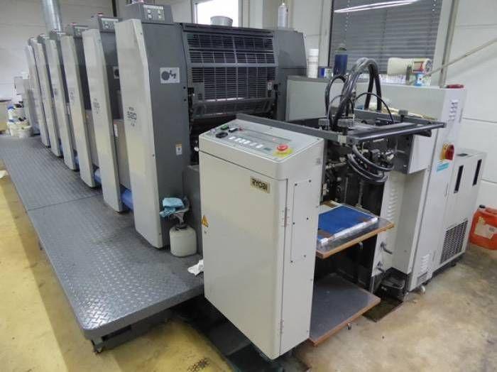 Ryobi 526 GX, Sheetfed offset machine 6 52 x 37 cm