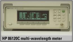 Agilent 86120C Light wave meter