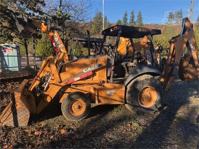 Case 580M Backhoe Loaders