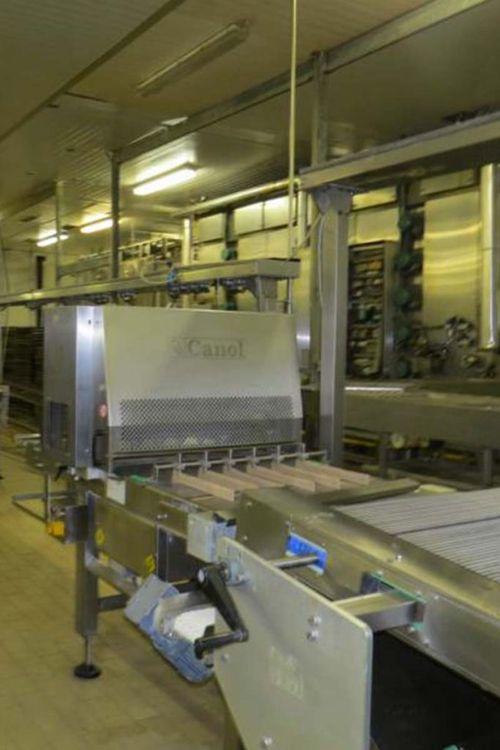 Canol Bread Lamination Line 2000 pieces/hour