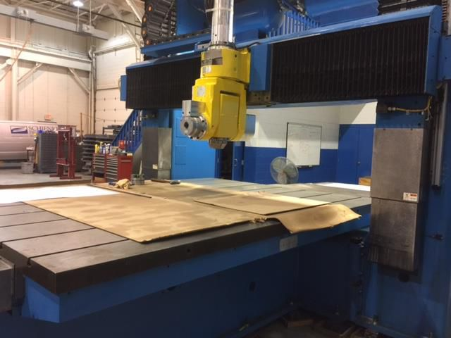 Schienke 5-Axis Double Column CNC Bridge Mill 5 Axis