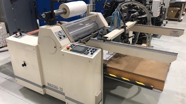 Comecal Massai 72 Laminating Machine