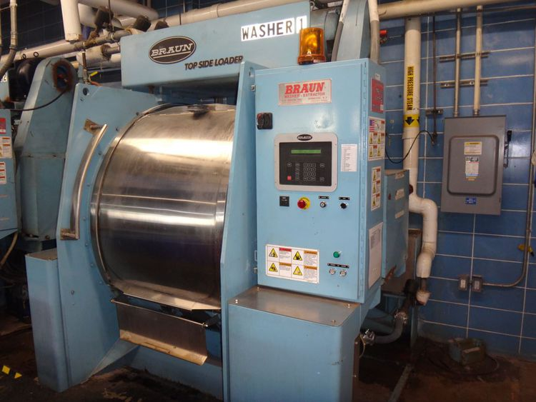 Braun 800NMTDP-3 Washer Extractor