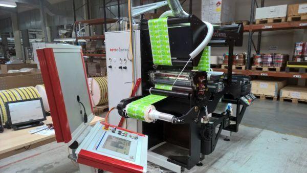Rotocontrol RSC 540, Inspection Slitter/Rewinder Machine