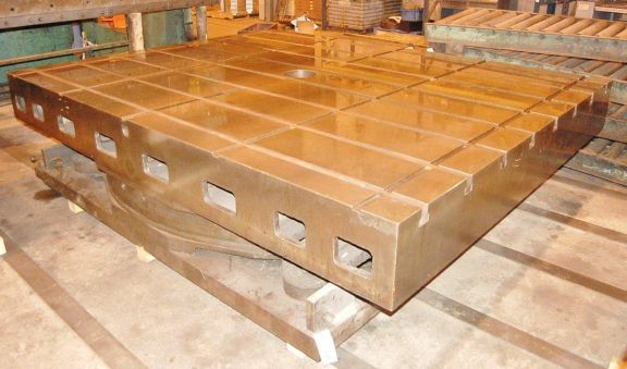 Giddings & Lewis Air Lift Rotary Index Table
