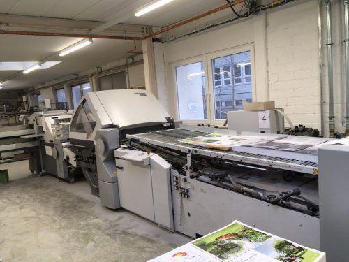 Heidelberg KH 78-4 KTL, Folding machine