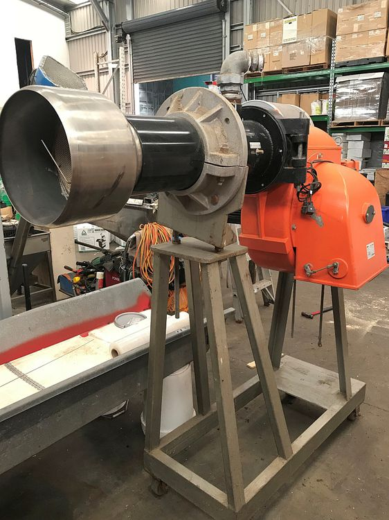 Others BT-120 GRF NATURAL GAS BURNER WITH BLOWER