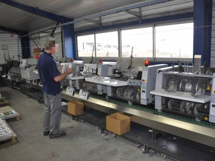 Heidelberg ST 400 Saddle Stitching machine