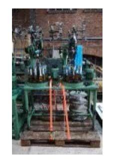 2 Ratera 16‐16/104 Braiding machines