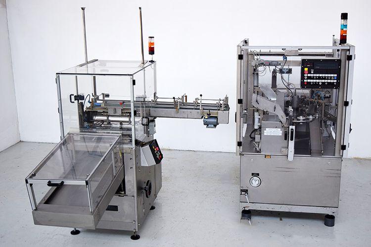 IWKA TFS 20 , Tube flling and closing machine