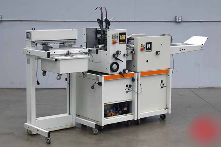 CP Bourg AGR, Booklet Making System