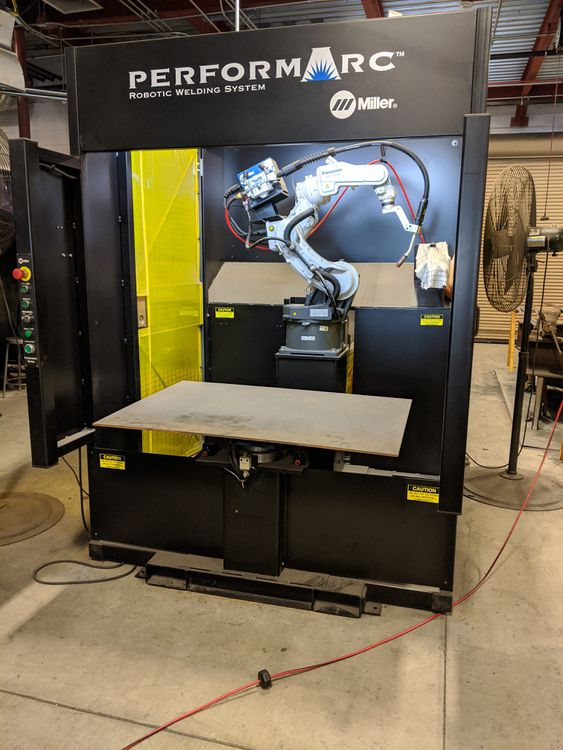 Miller PA250M ROBTIC WELDING SYSTEM 6 Axis