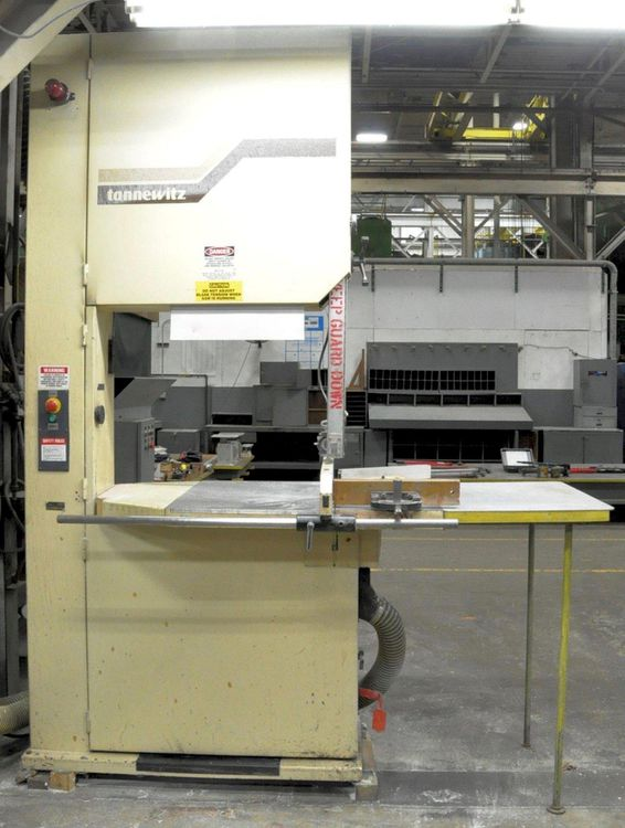 "Tannewitz 36"" BAND SAW VERTICAL BAND SAW Semi Automatic"