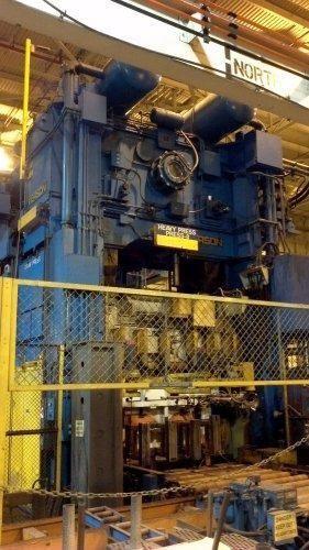 Verson LE4-800-120-60t Link Drive Press 800 Ton