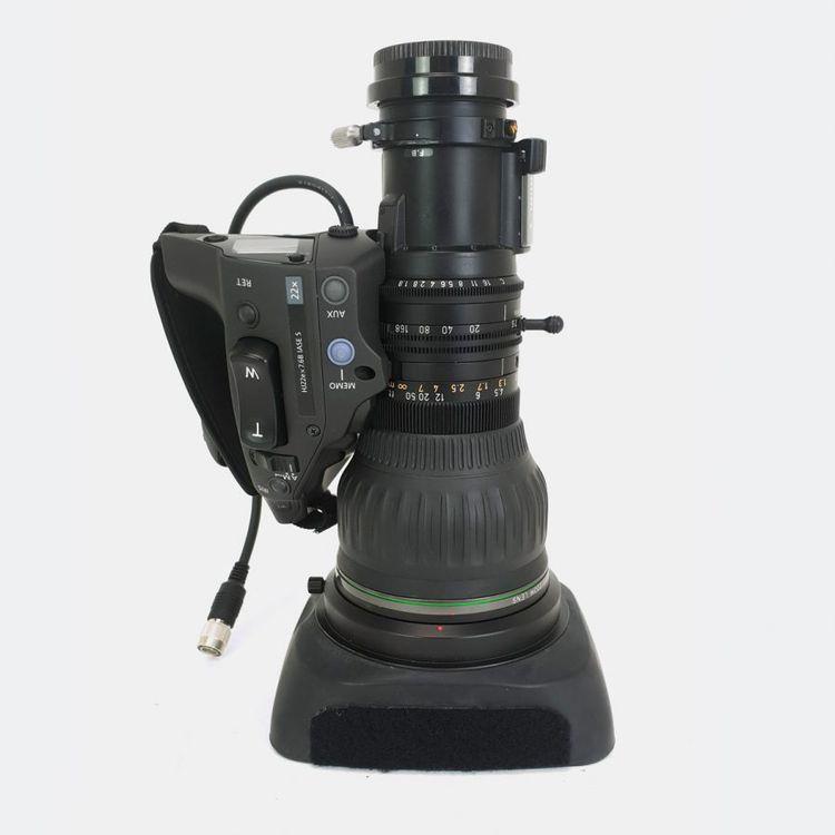 Canon HJ22ex7.6B IASE A HD Lens