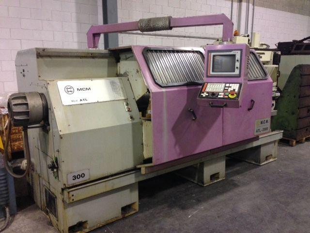 Mcm C.N.C: FAGOR 800 T 2000 rpm MADAR ATL 300X2000 2 Axis
