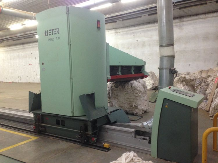 Rieter R40 Open end spinning mill