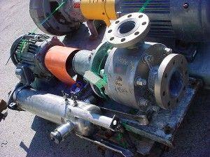 R S Corcoran 4 X 3 INCH TITANIUM CENTRIFUGAL PUMP 4000F-HD3 (A70-2B)