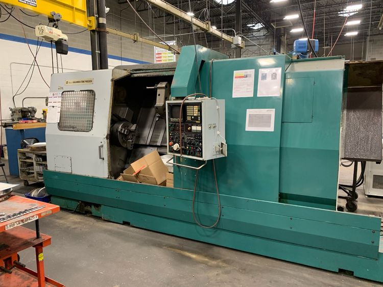 Nakamura Tome Fanuc 11T Control Variable S-4BL 2 Axis