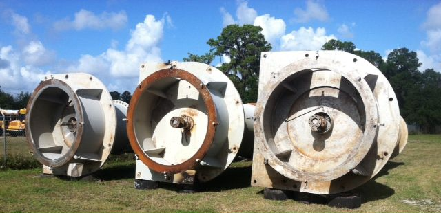 Sulzer vertical mixed flow stainless steel pump