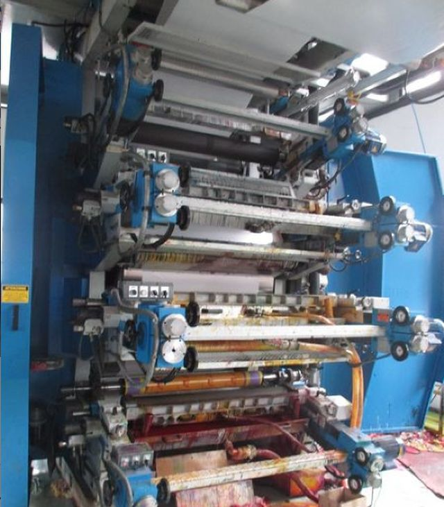 Uteco AMBER, FLEXO MACHINE 8 1500 mm