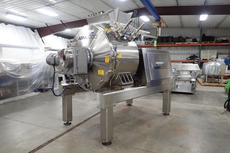 Advanced ABM 2000 high speed batch mixer