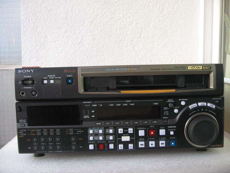 Sony HDW-D2000 HDCAM Recorder