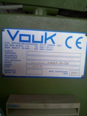 Vouk Stiratoio - UNIMAX - R - DX Drawing Frame