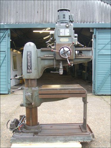 Kerry TYPE R3 RADIAL DRILL Variable