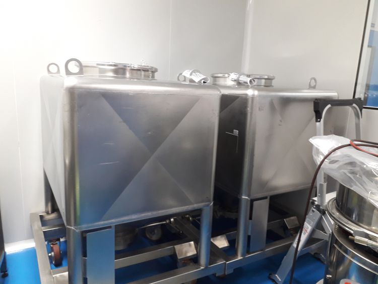 Bohle TC 600 containers for pharmaceutical