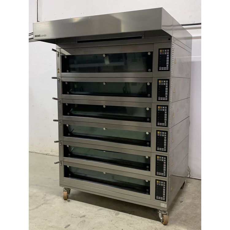 Miwe Condo 1208 Deck Oven