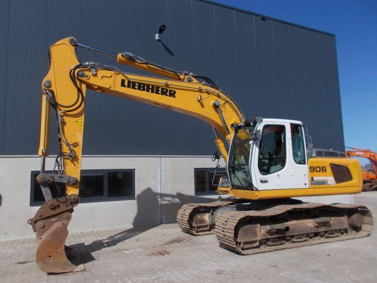 Liebherr R906 Tracked Excavator