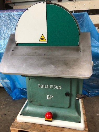 Phillipson BP, Single Disc Sander
