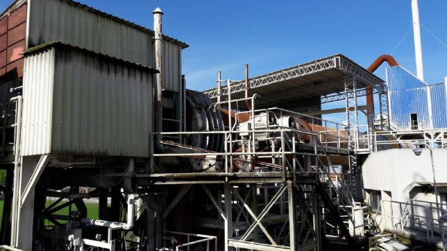 Kamyr kraft hard wood bleached mill 130 ADT/ day