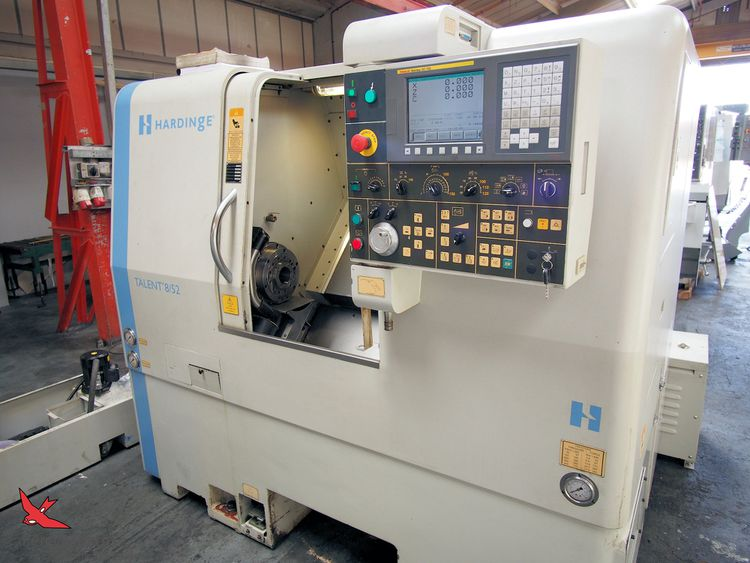Hardinge FANUC OIT 5000 rpm Talent 8/52 with C axis & Milling 3 Axis