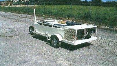 Lavatory Service Carts Low Profile Design