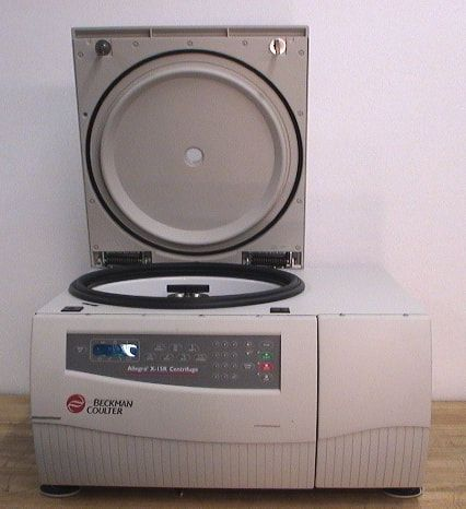 Beckman Coulter Allegra X-15R Refrigerated Benchtop Centrifuge