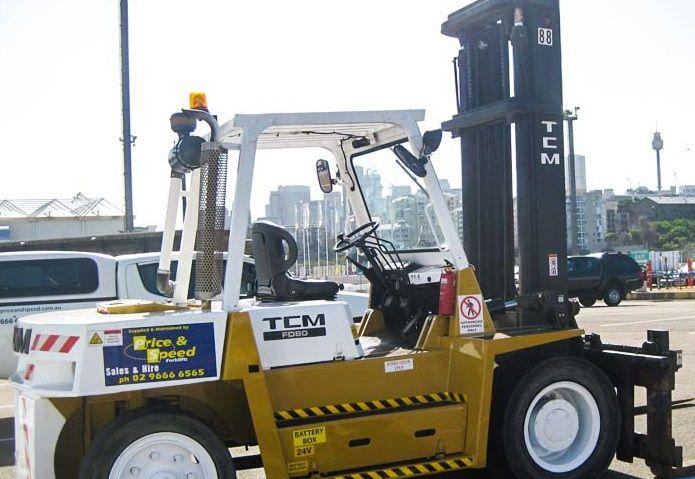 TCM FD80Z7 7,000kg @ 600mm